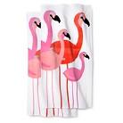 Flamingo 2-pk. Beach Towel - Pink/White