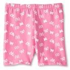 Toddler Girls' Butterfly Bike Short - Pink Wink