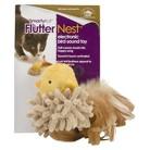 SmartyKat® FlutterNest™ Electronic Bird Sound Pet Toy