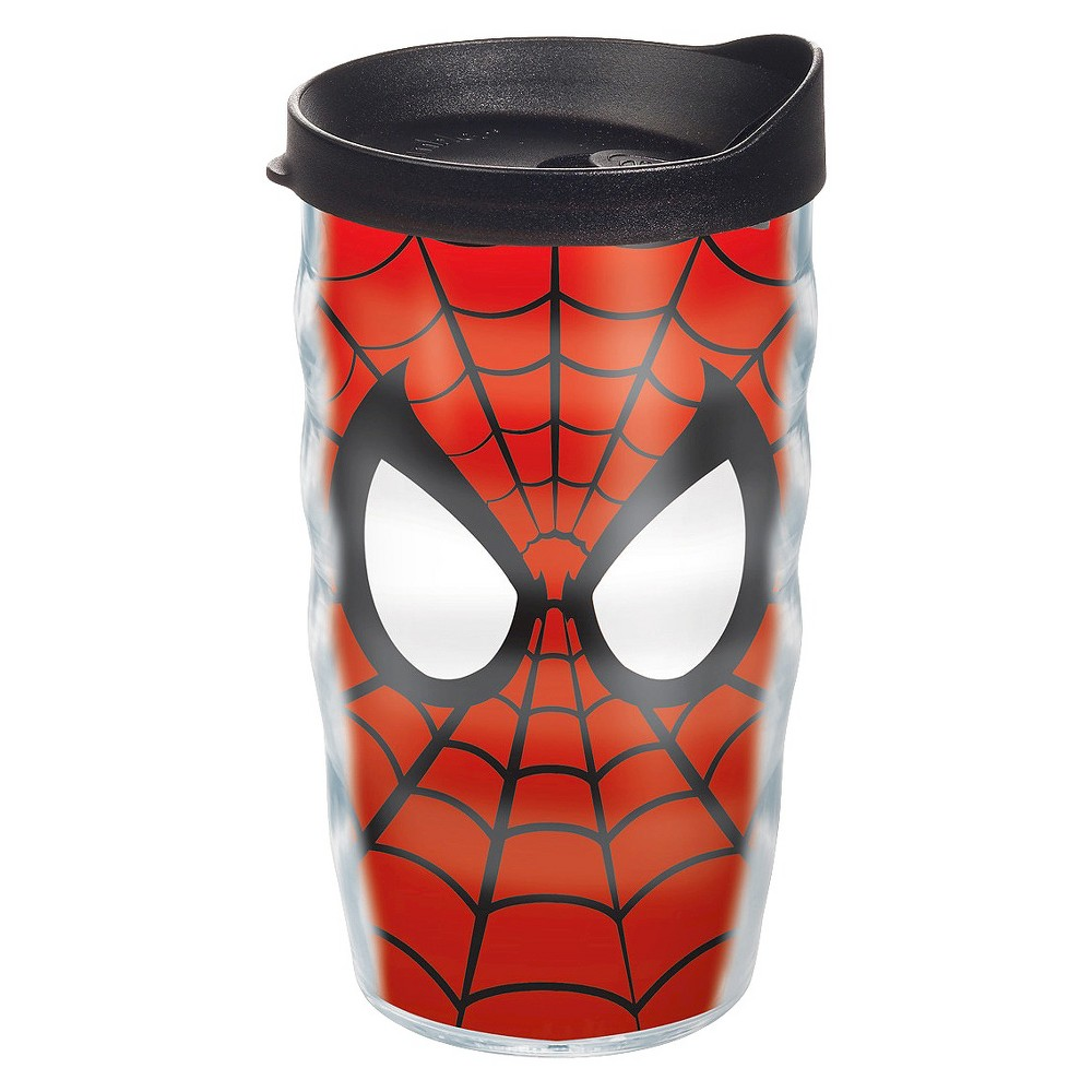 Tervis Marvel Spiderman Mask Tumbler (10 oz), Clear