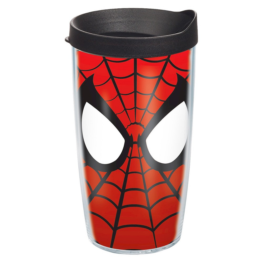 Tervis Marvel Spiderman Mask Tumbler (16 oz), Clear