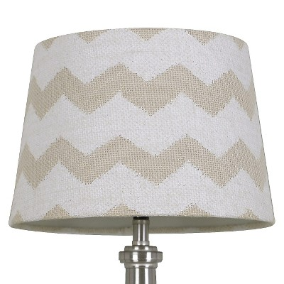 Threshold™ Burlap Chevron Shade Small - Sour Cream