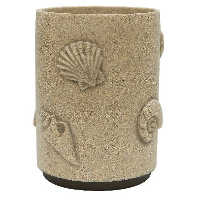 Folly Beach Stripe Wastebasket
