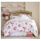 Simply Shabby Chic® Sunbleached Floral Duvet Set - Pink (Twin)