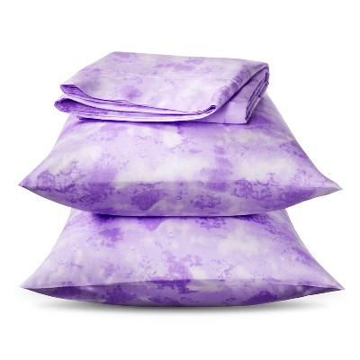 Horizons 300 Thread Count Cotton Sheet Set -  Lilac (King)