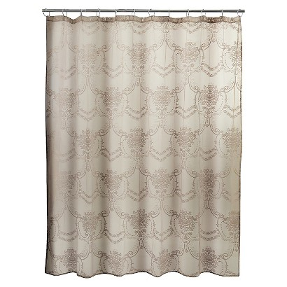 lace shower curtain cappuccino target