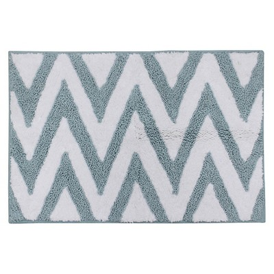 "Ikat Stripe Bath Rug - Multi-Color (20X30"")"
