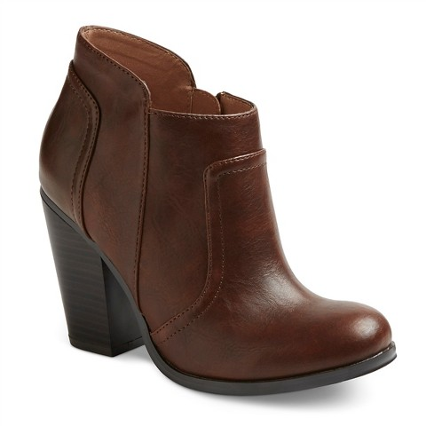 s heeled ankle boots