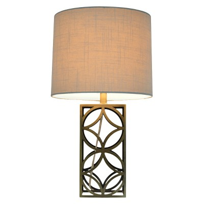 Threshold™ Harper Table Lamp Medium - Plated Antique Brass