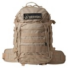 12 Survivors Frame Backpack - Brown
