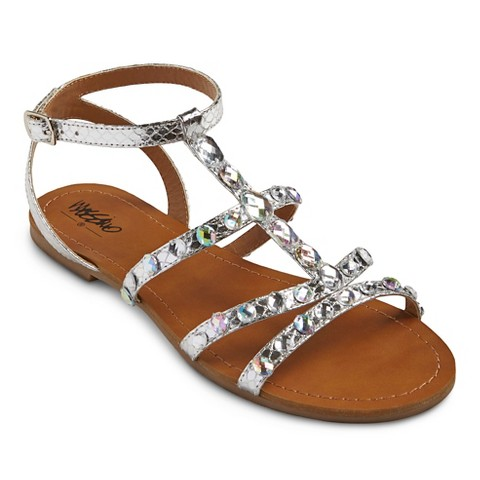 Perfect Women39s Braided Metallic Sandal Product Details Page