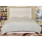 Furniture of America Dakota Adjustable Wood Headboard - White (Full/Queen)