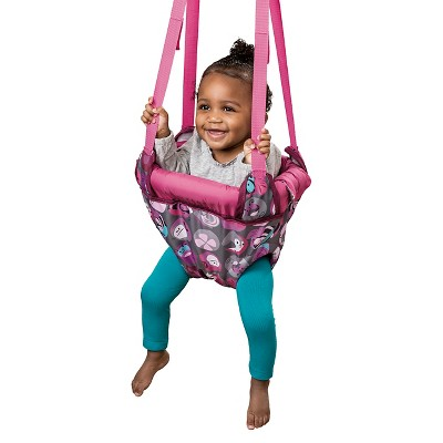 Evenflo Exersaucer Door Jumper Pink Bumbly