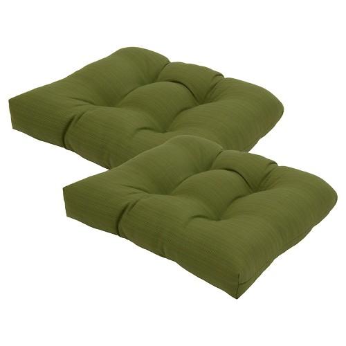 Threshold 2 Piece Outdoor Seat Cushion Set