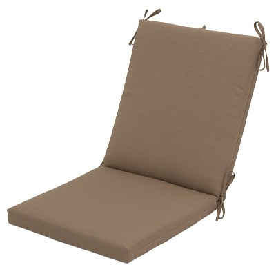 Outdoor Chair Cushion - Taupe - Threshold™