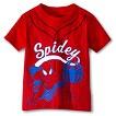 Spiderman Toddler Boys' Short Sleeve Baseball Tee