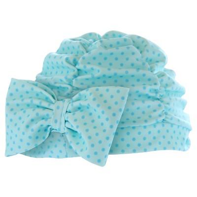Toddler Girls' Skull Cap - Blue 6-12M
