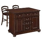 Colonial Classic Kitchen Island Wood/Brown - Home Styles