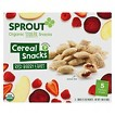 Sprout Organic Cereal Snack - Red Berry & Beet - 1.98oz