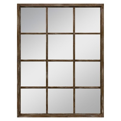 Threshold™ Wall Mirror - Brown