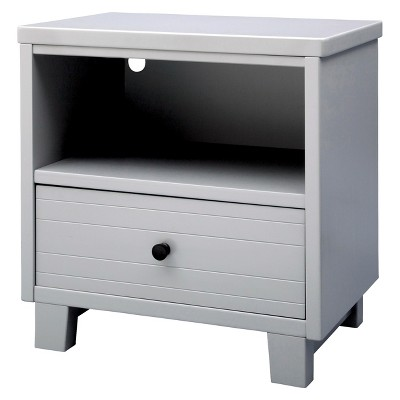 Simmons Kids Rowen Nightstand - Grey