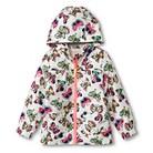Infant Toddler Girls' Butterfly Windbreaker - White