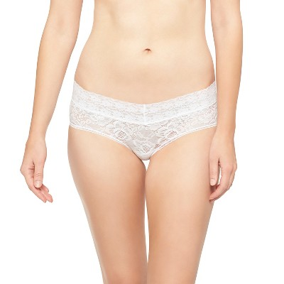 Women's All Over Lace Hipster Panty True White M - Gilligan & O'Malley™