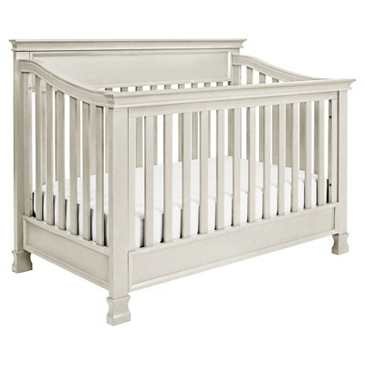 Million Dollar Baby Classic Foothill 4-in-1 Convertible Crib with Toddler Rail - Dove White