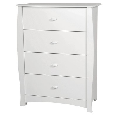 Beehive 4-Drawer Chest - Pure White