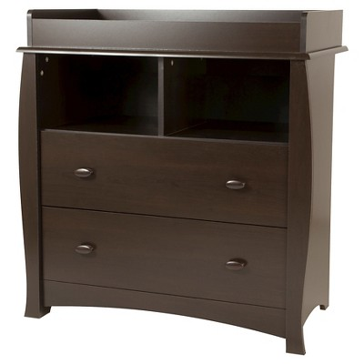 Beehive Changing Table with Removable Top - Espresso