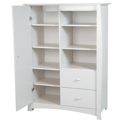 Beehive Door Chest - Pure White