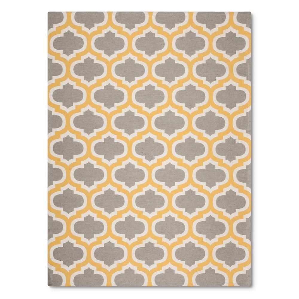 indoor outdoor flatweave fretwork rug