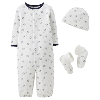 Precious Firsts™Made by Carter's® Newborn Boys' Coverter Gown Set 3 M