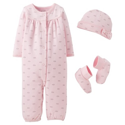 Precious Firsts™Made by Carter's® Newborn Girls' Converter Gown Set 3 M