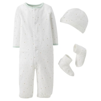 Precious Firsts™Made by Carter's® Newborn Converter Gown Set 3 M