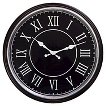 Threshold™ Distressed Wall Clock - Black 17.5""