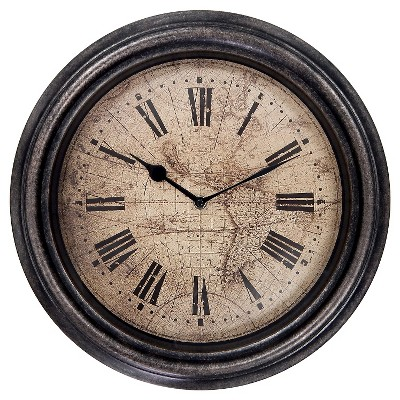 Decorative Clock Rustic MCS Industries