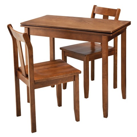 threshold 3 piece expandable dining set target