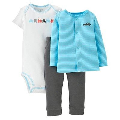 Just One You™Made by Carter's® Newborn Boys' Car 3 Piece Set 3 M