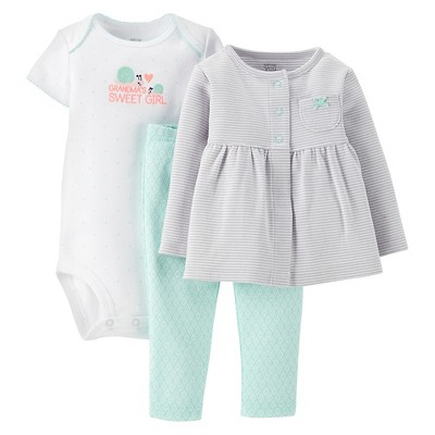 Just One You™Made by Carter's® Newborn Girls' Gramma's Sweet Girl 3 Piece Set 6 M