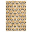 Miramar Outdoor Patio Rug - Ivory/Camel