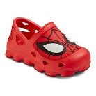 Toddler Boy's Spiderman Sandals - Red