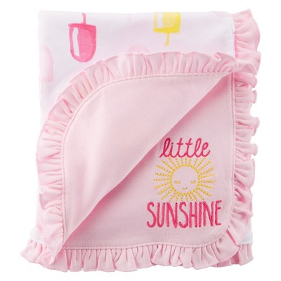 Just One You™Made by Carter's® Newborn Girls' Popcicle Blanket