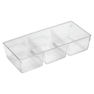 InterDesign Clarity Tray Three - Clear