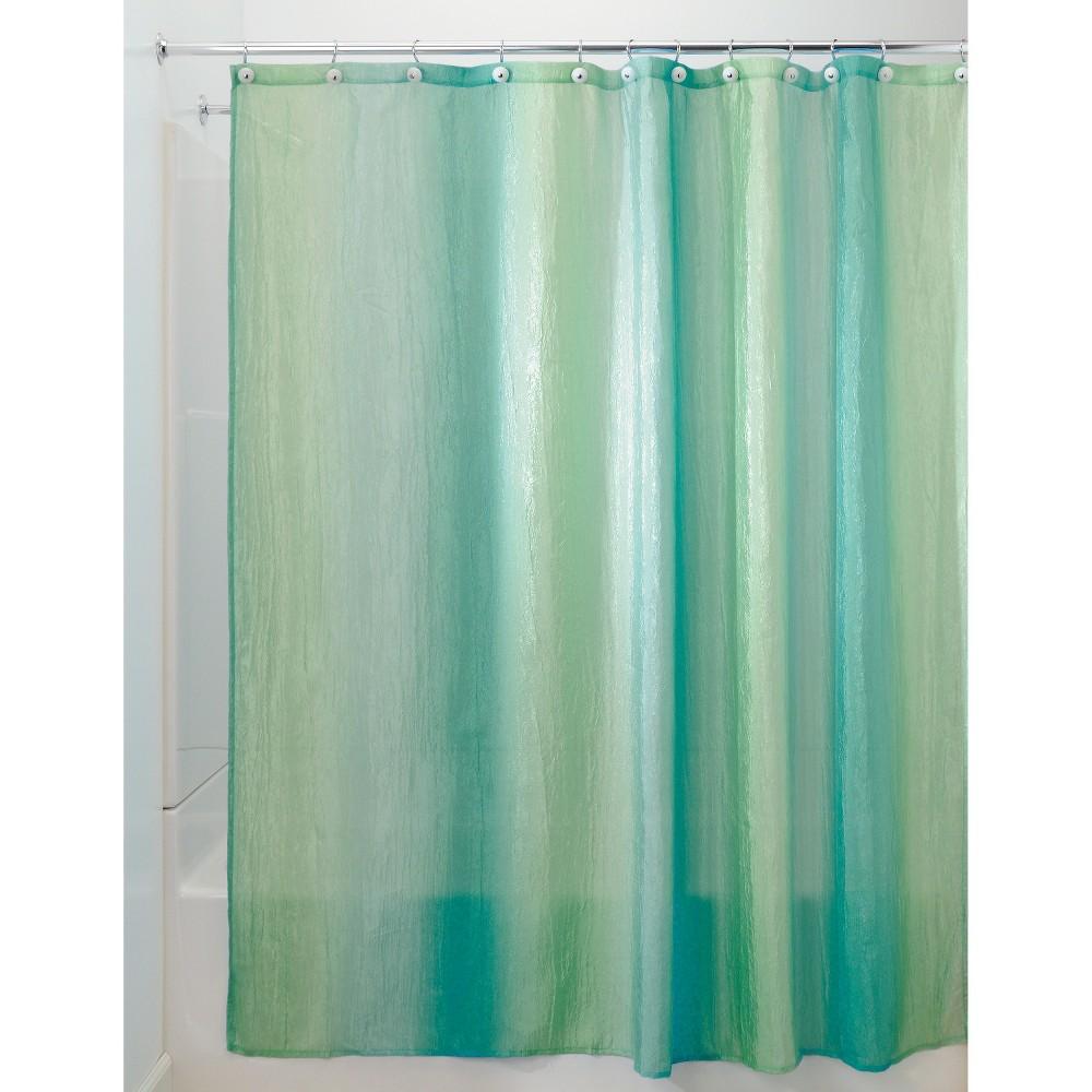 Interdesign Ombre Polyester Shower Curtain Multi Colored