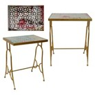 Import Collection Accent Table - Brass