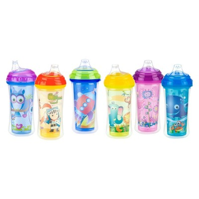 Nuby Cup Insulated Soft Spout Sippy Cup - Assorted Colors