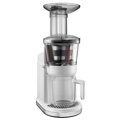 KitchenAid® Maximum Extraction Juicer (slow juicer)- White KVJ0111