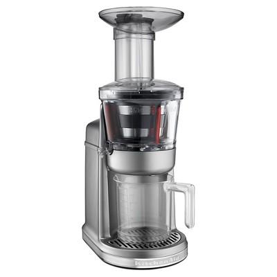 KitchenAid® Maximum Extraction Juicer (slow juicer)- Contour Silver KVJ0111