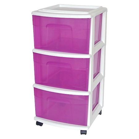 Sterilite 4 Drawer Cart Homz 4 Drawer Medium Cart With